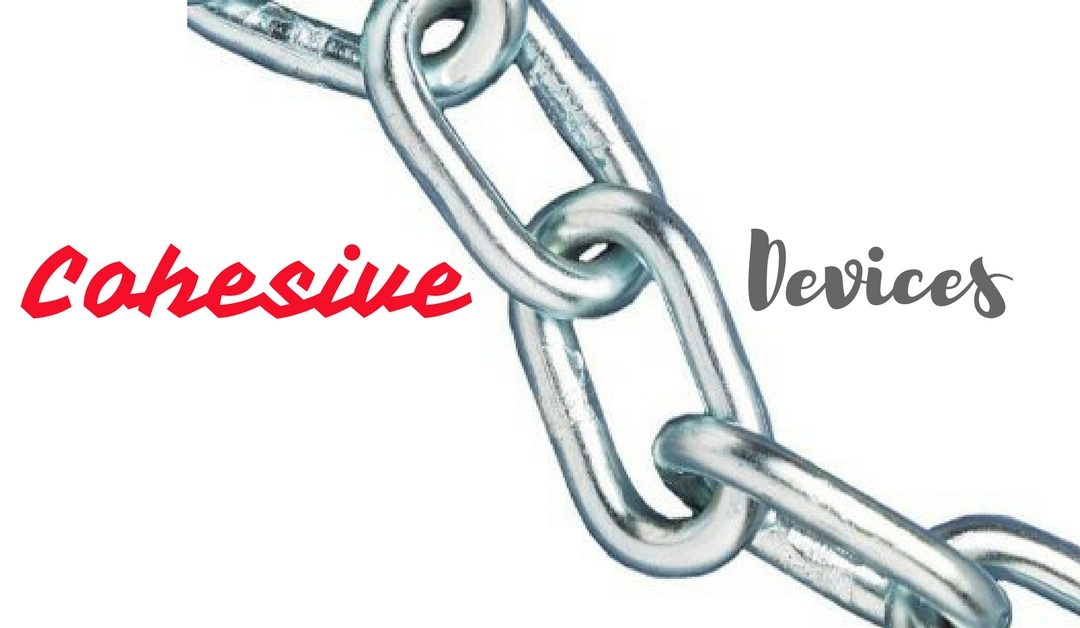 cohesive devices exercises