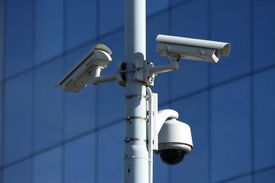 install the CCTV cameras