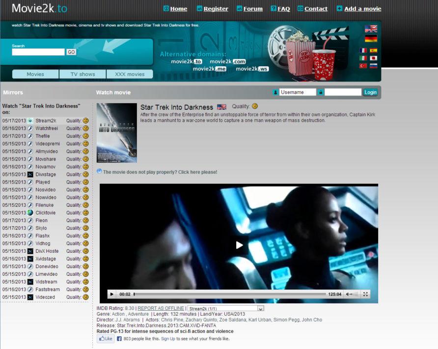 Movie2K to Movie4K