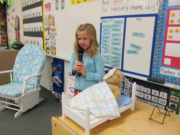 Reciting Nursery Rhymes